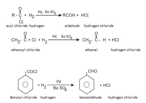Class_12_Aldehydes_&_Ketones_Preparation_Of_Aldehydes_From_Acid_Chlorides