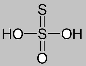 Class_12_Group_16_Chemical_Properties_Structure_Of_ThioSulphuric_Acid