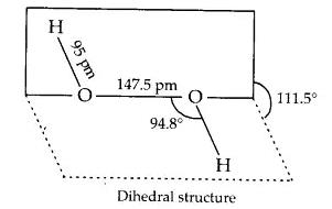 Class_11_Chemistry_Hydrogen_Dihedral_Structure_Of_Water